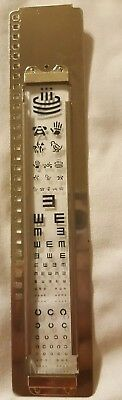 Works with Reichert / AO Project-O-Chart Slide ophthalmic projector -