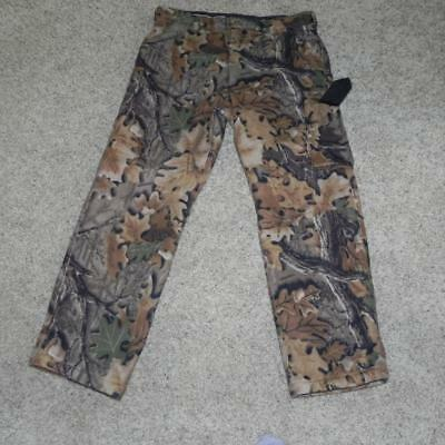 #1794 Worn 2X Cabela's dry Plus Mossy Oak Camo 40 Regular Insulated Hunting Pant