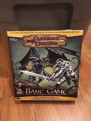 Dungeons and Dragons Role Playing Basic Game
