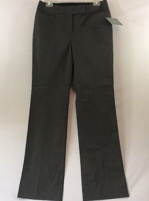 Women's Clothing Pants Nwt Liz Claiborne Pants Size 4 Olive Grove Classic Belted Straight Leg $44