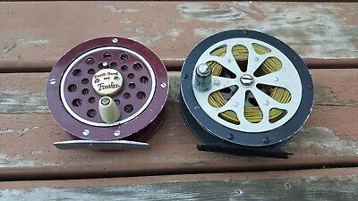 Pflueger Sal-Trout 1554 & South Bend 1122 Fly Reels