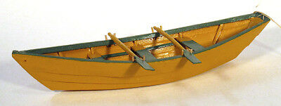 1950s Vintage SCALE MODEL DORY Rowboat Seal Cove New Brunswick CANADA Folk Art