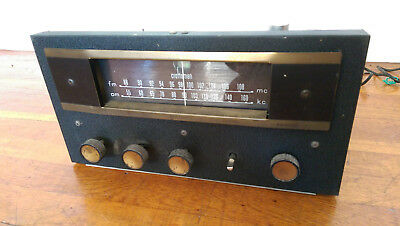 Radio Craftsmen 800 Tube AM/FM Tuner/Preamplifier Preamp with Phono for C500 Amp