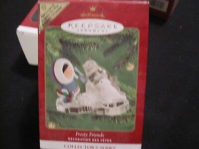 "2000 Hallmark Keepsake ""Frosty Friends"" 21st in the Series Christmas Ornament"