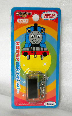RARE THOMAS & FRIENDS Omnicl Japan 2006 Cell Phone Strap SOLAR LIGHT STRAP mint