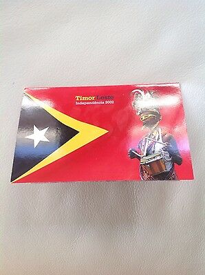 2002 - Timor-Leste Independencia Post Office Pack