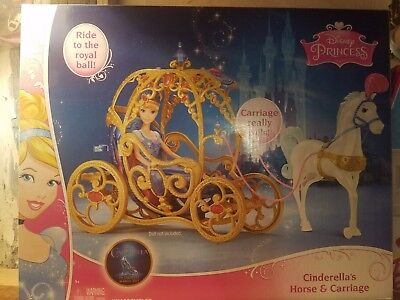 Brand New Cinderella Horse and Carriage