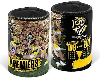 AFL Richmond Tigers Premiers  Premiership Team Image Can Cooler Stubby Holder