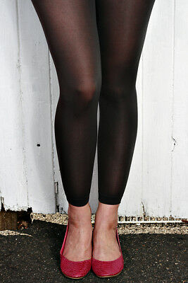 Quality Red Blue, Black, Pink Grey Sheer Opaque Leggings AUSSIE SELLER FAST POST