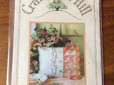 "PILLOW PATTERN ""SIMPLE JOYS OF SPRING"" by CRAB-APPLE HILL STITCHERY & PATCHWORK"