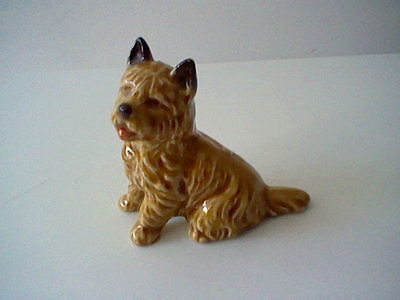 """1970's large Wade Whimsie - Cain Terrier dog - 2.5"""" tall"""