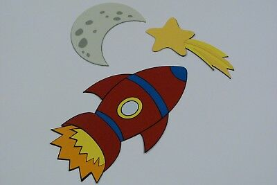 Space Set Fully Assembled Set Of 3  Die Cuts