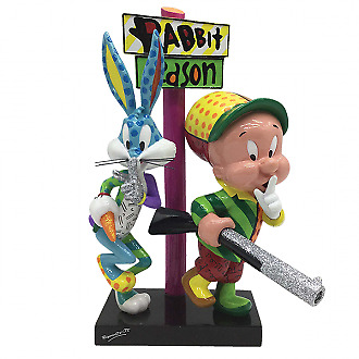 Looney Tunes Britto ELMER  & BUGS Official Figurine NEW