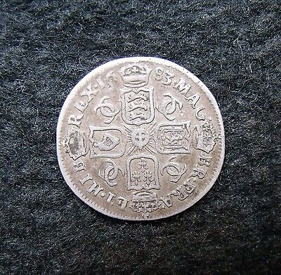 1683 Charles II sixpence 1683 near VF a good example.