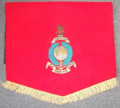 Royal Marines Music Banner made by Mayfield Jayes