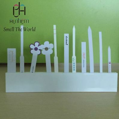 Ashem STW fragrance strips ACRYLIC holder display perfume test strip holder