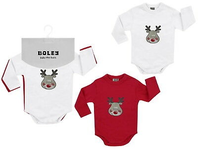 Jacky Baby Body 2er-Pack Weihnachts -BODY Lang Unisex Gr. 50/56 - 86/92
