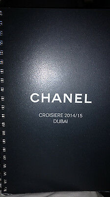 Htf Authentic Chanel Cruise Croisiere Dubai 2014 2015 Runway Lookbook Catalog