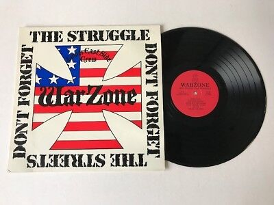 Warzone - original 'Struggle' LP on Fist Records.Youth Of Today/Gorilla Biscuits