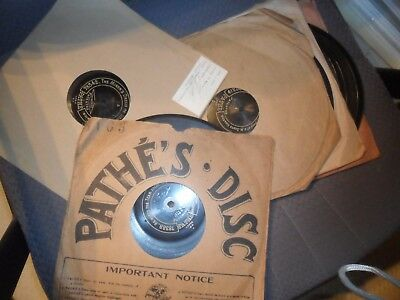 10 Various Center Start Pathe  Gramophone Phonograph records