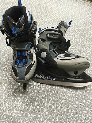 Kids' Ice Skates in great condition ! Adjustable size UK 12-1 (EU 31-33)