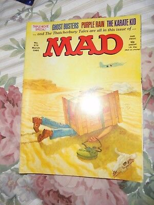 Mad Magazine 1985 March Triple Movie Special