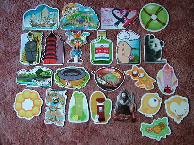 23 Unused SHAPED Postcards of/from CHINA. Near Mint condition.