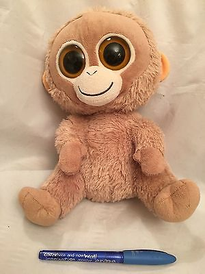 "Genuine ""Beanie Babies Boo Orangutang"" - Color: Tangerine - Very Cute & Soft"