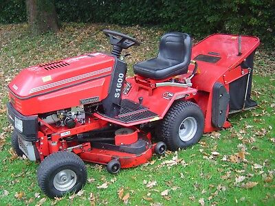 Westwood S1600/36 Hydro & Powered Grass Collector