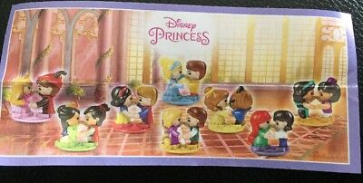 kinder surprise disney princess 2017 You Pick