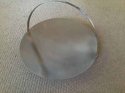 Vintage Stainless Steel Old Hall Cake Stand With Handle - Robert Welch