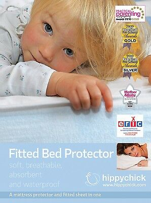 Hippychick Mattress Protector Fitted Sheet 60 x 120 cm Cot - SAME DAY DISPATCH