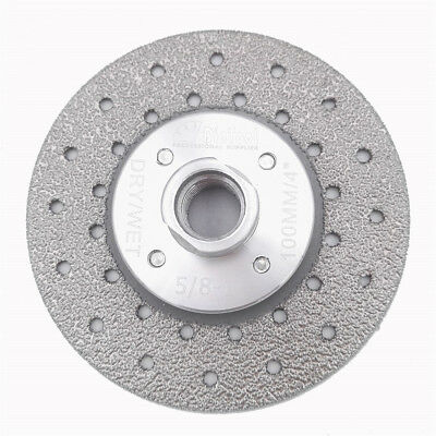 100 115 125MM Vacuum Brazed Diamond Grinding wheel 5/8-11 marble stone granite