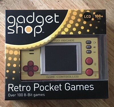 Thumbs Up! Retro Pocket Games with LCD Screen - Over 100 8 Bit Games
