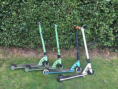 scooters Trixsta and 3x MGPs