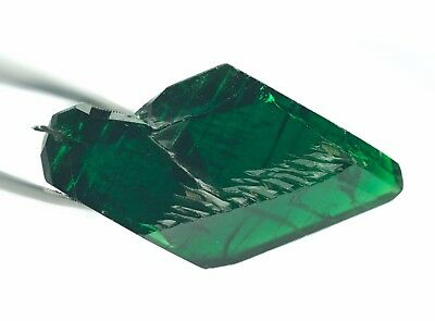 31.77ct Collection Crystals of Lab Created Hydrothermal Emerald Rough Stone