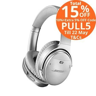 Bose QuietComfort 35 QC35 II Wireless Noise Cancelling Headphones Silver