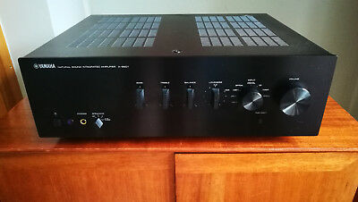 yamaha as 501 stereo integrated amplifier with remote. Black Bedroom Furniture Sets. Home Design Ideas