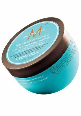 Moroccanoil Intense Hydrating Mask 8.5 Oz with lots of free samples