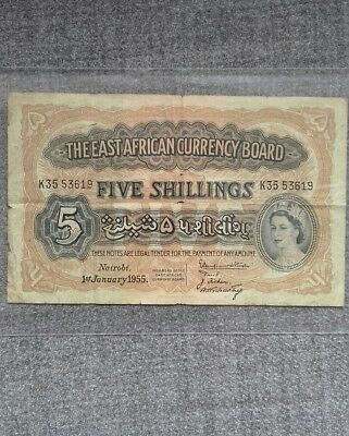 East African 5 Shillings