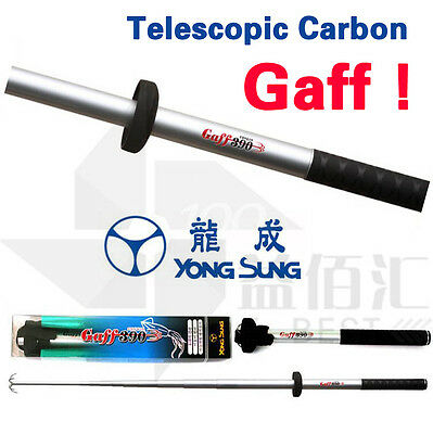 Telescope Fishing Gaff Carbon Octopus Tools Terminal Tackles Squid Landing Hooks