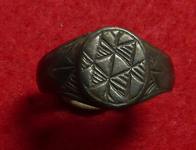 Fantastic Bronze Medieval Ring