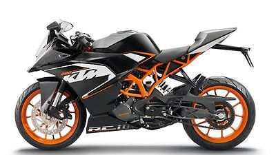 Ktm Rc 125 2015-2016 Breaking Most Parts Available