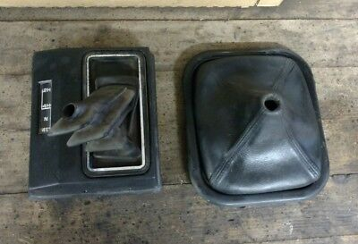 Vintage Gmc/chevy Truck Shifter Boot And 4X4 Boot With Indicator Oem 1984-1987
