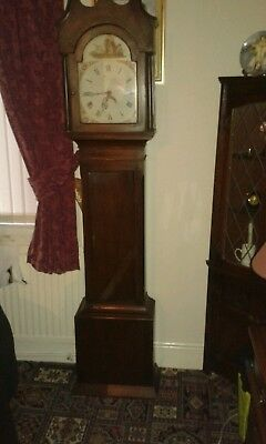 Grandfather clock 30hr pine case