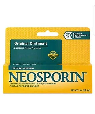 NEOSPORIN ORIGINAL FIRST AID ANTIBIOTIC OINTMENT 1 oz.<FREE WORLD WIDE SHIPPING>