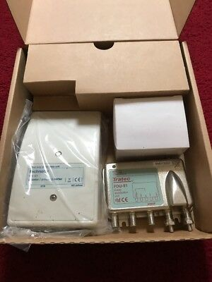 Virgin Media Signal Booster Technetix HDU-FDU-51  HDU 400 same as gain control