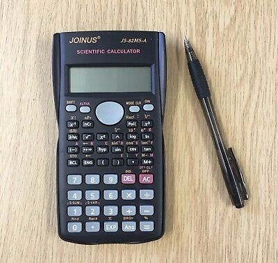 Scientific Calculator Electronic Office 12 Digits School Exams Gcse Work Office