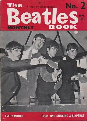 ORIGINAL 1963/64 THE BEATLES MONTHLY BOOK - Nos 2 -15 - PICK THE ISSUES YOU WANT