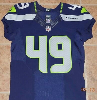 49KACHE PALACIO, NIKE, COA, Team Issued For 2016, DIRECT FROM THE SEAHAWKS..